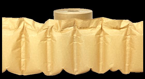 Luftpolsterkissen Papier Papierpolster Biodegradable kompostierbare