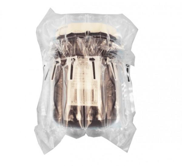 luftpolstertasche verpackung gläser