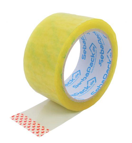 transparentes Klebeband Packband Rolle